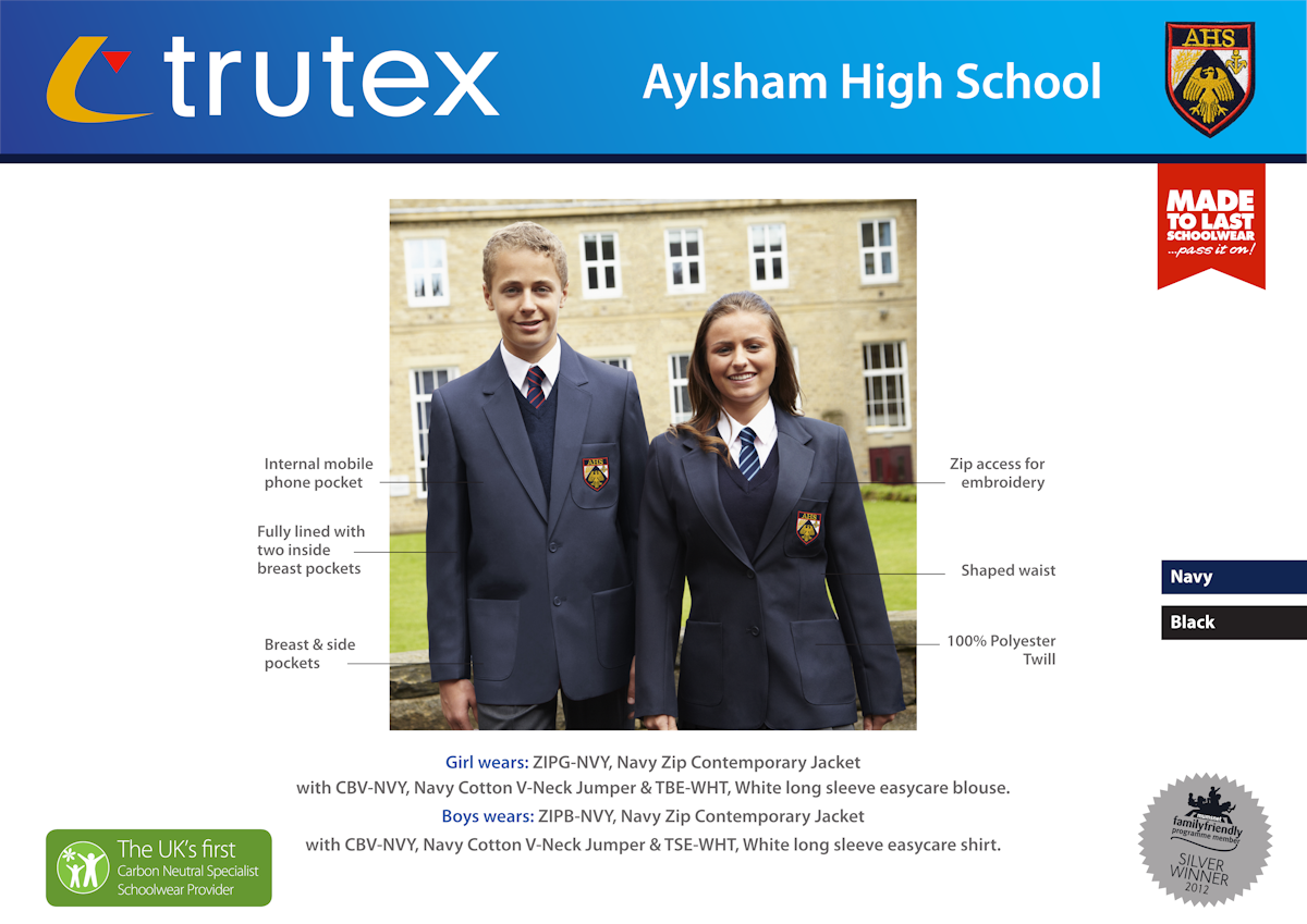 Aylsham High School_Design Board_Blazers1