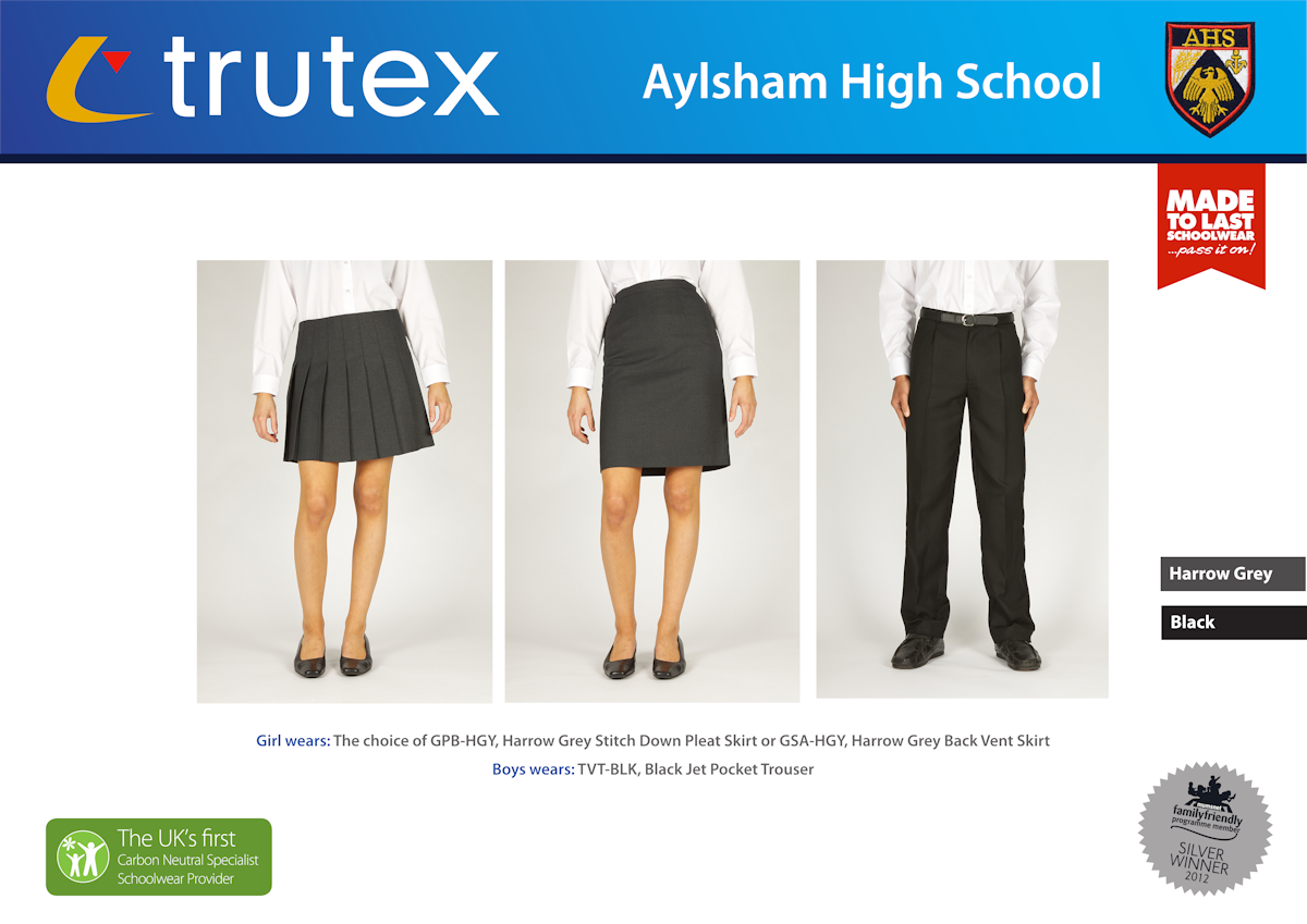 Aylsham High School_Design Board_Trousers-Skirts1